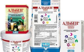 «Альбен» и другие лекарства от глистов для свиней