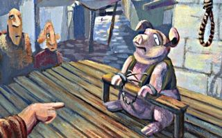 Случаи поедания свиньей человека